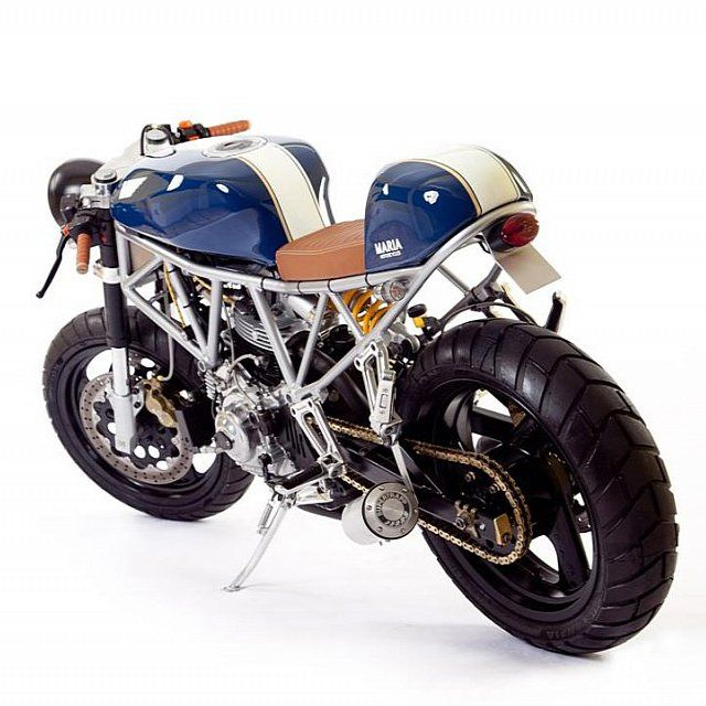 Fancy - Italian Sniper Cafe Racer by Maria Motorcycles