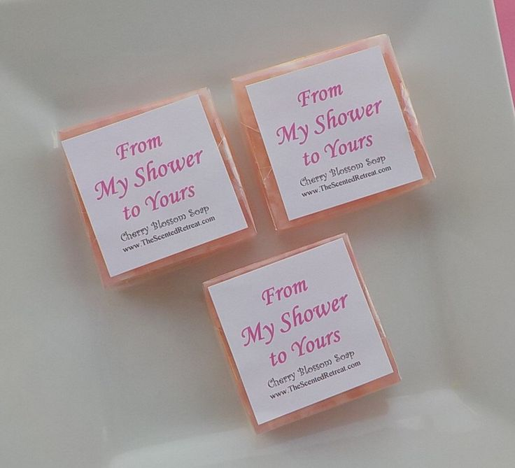 Pink Soap Favors   Bridal Shower Favors   Ready To Ship Favors   Baby  Shower Favors   Square Soaps   From My Shower To Yours