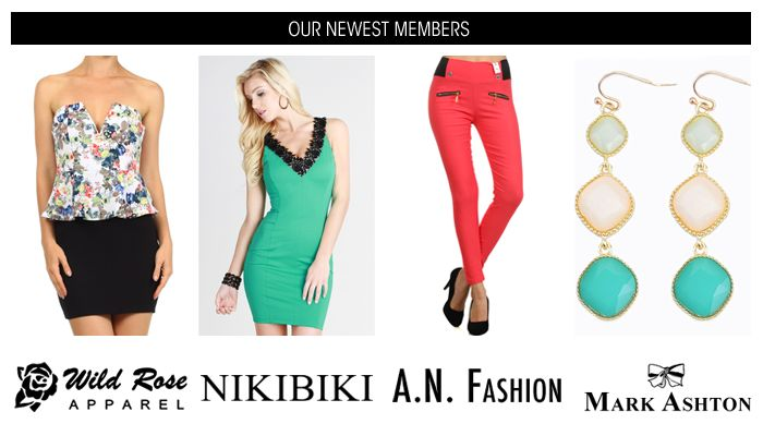 New Wholesale Boutique Clothing Arrivals - LAShowroom.com