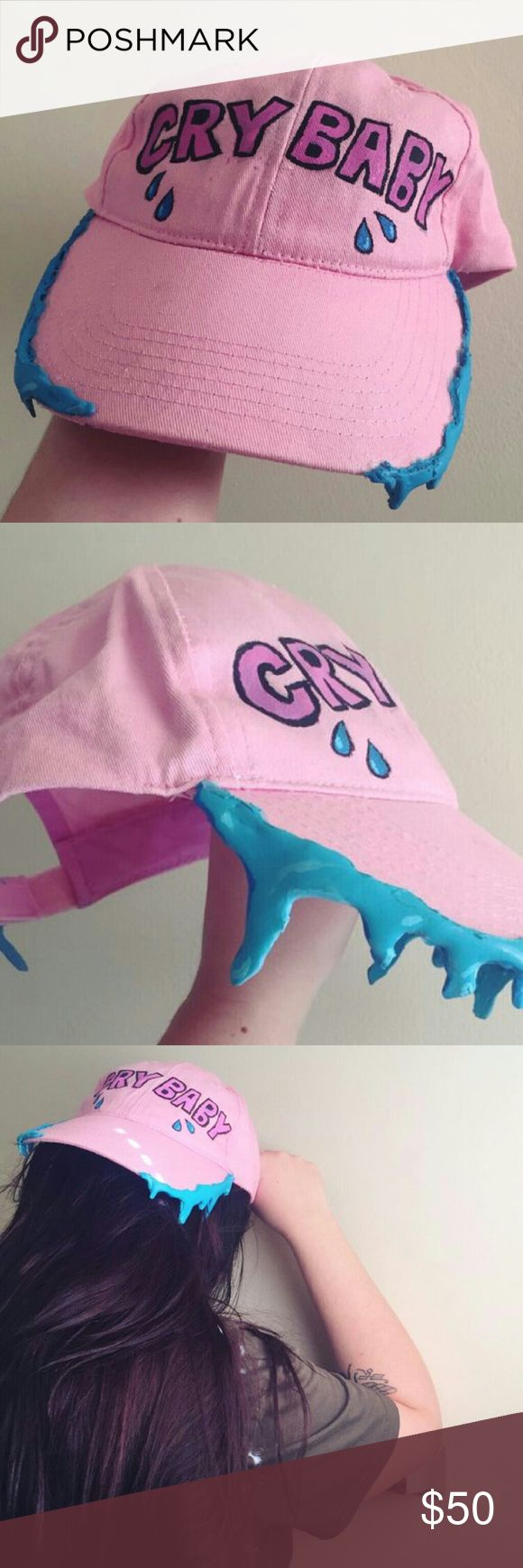 Melanie Martinez Crybaby hat Inspired by Melanie Martinez Accessories Hats