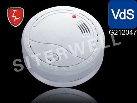 Siterwell GS50X series Stand-alone photoelectric smoke detector(alarm), made of high quality optical sensor, conforms to BSI, UL, VDS, BOSEC, LPCBGS norm.  Properly installed and maintained, residential smoke alarms (detector) are one of the best and least expensive ways to provide an early warning when a fire begins.  www.china-siter.com/Smoke-alarm.htm