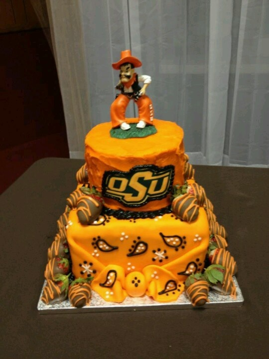 Go pokes pistol pete cake  Graduation Gift Ideas  Pinterest ~ 152910_Birthday Party Ideas Okc