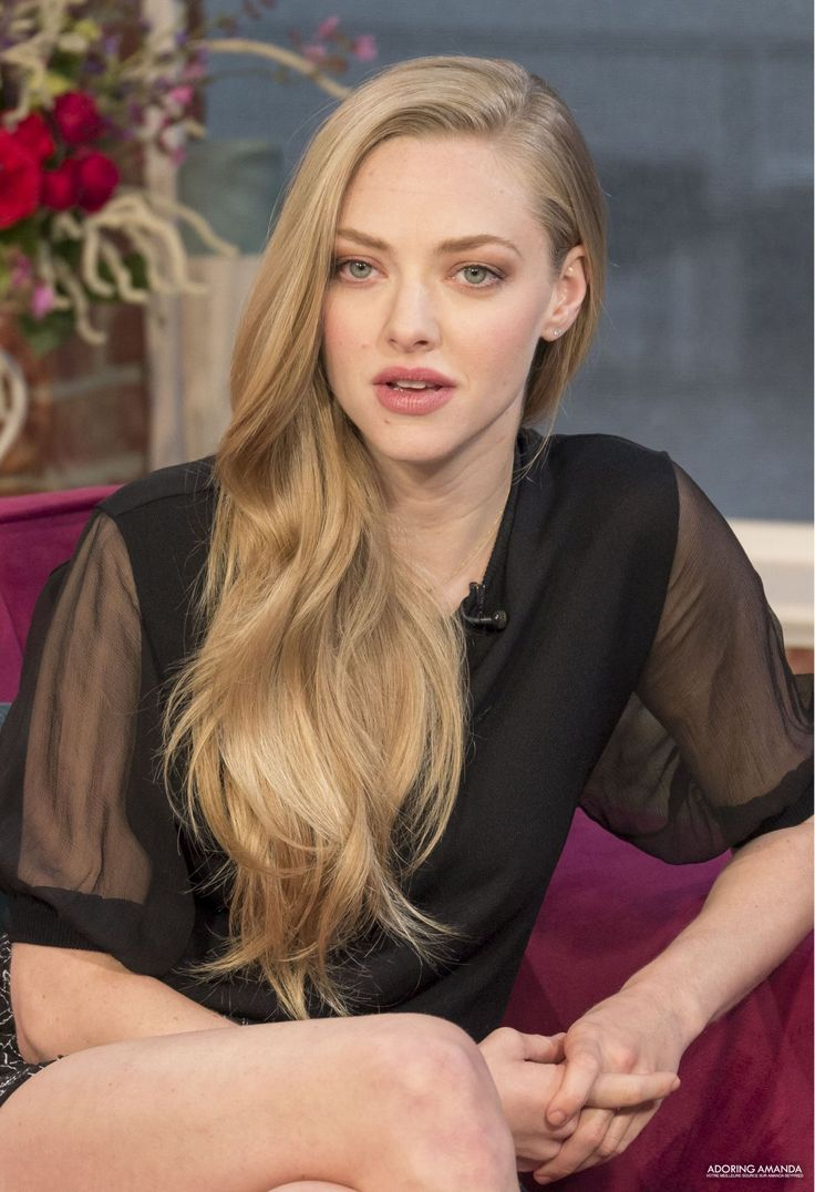 Amanda seyfried blonde hair you very