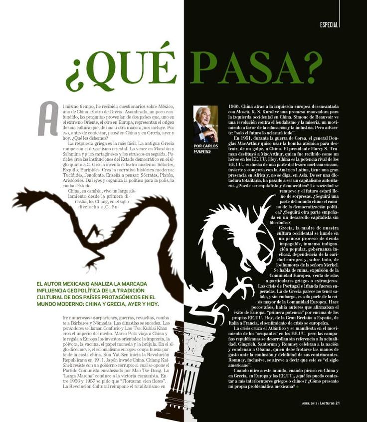 Columna Carlos Fuentes