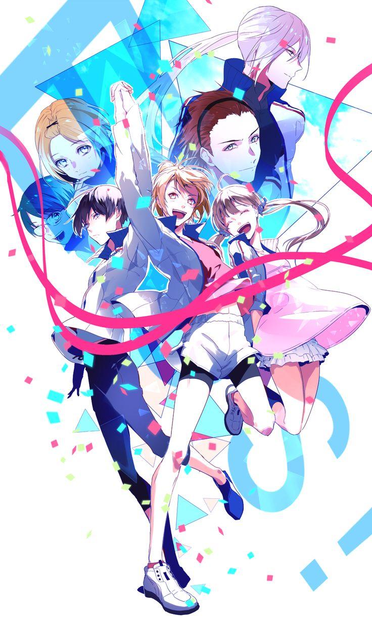 Prince of Stride - Honan Stride Club, Takeru, Riku, Nana, Ayumu, Hozumi, Heath and Kyousuke by Gれ on pixiv