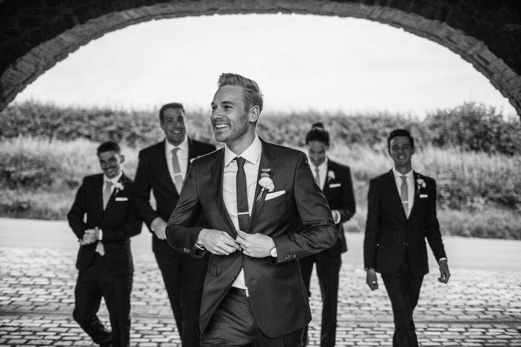THE BOYS. Hugo Boss suit. Wedding at Shustoke Farm Barns -- Katie & Ross by D&A Photography, a Contemporary UK & Destination Wedding Photographer