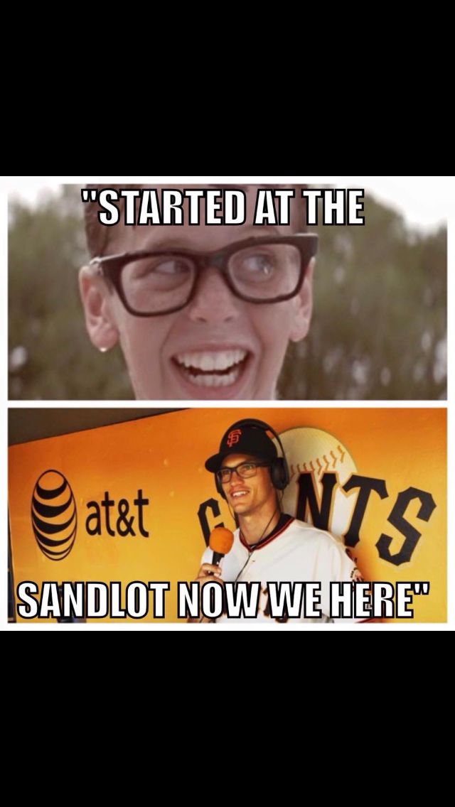 Lmao Kelby (aka the math geek from the Rivercats before he was actually Kelby Tomlinson)