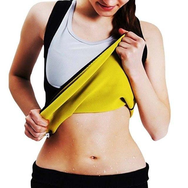 210f61f6581 Yienws Hot Neoprene Body Shapers for Women Vest Waist Trainer Corset  Slimming Vest Shapewear Loss Weight Modeling Belt YiZ02