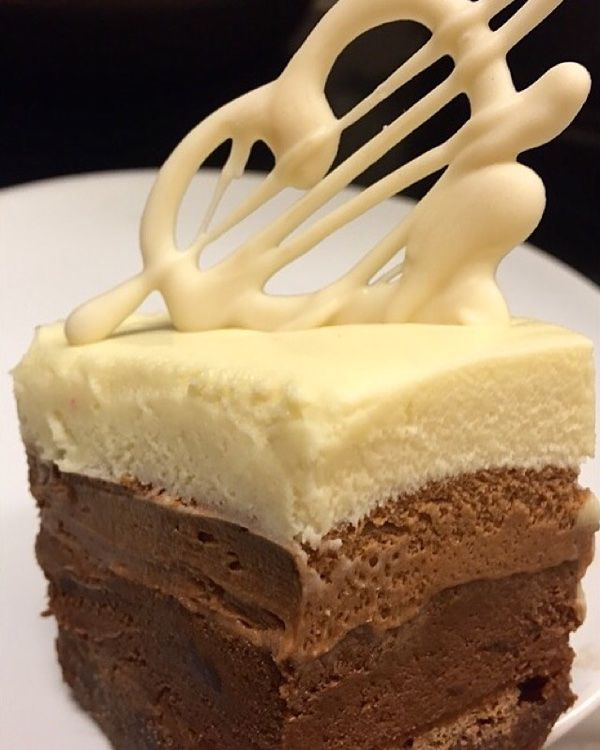 Snilleskök - Trippel chokladmousse tårta