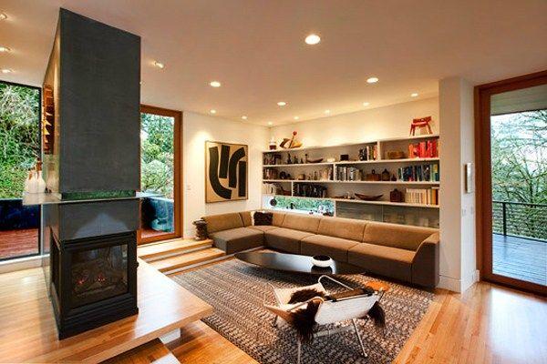 Home Art Twilight House House Interiors Dream