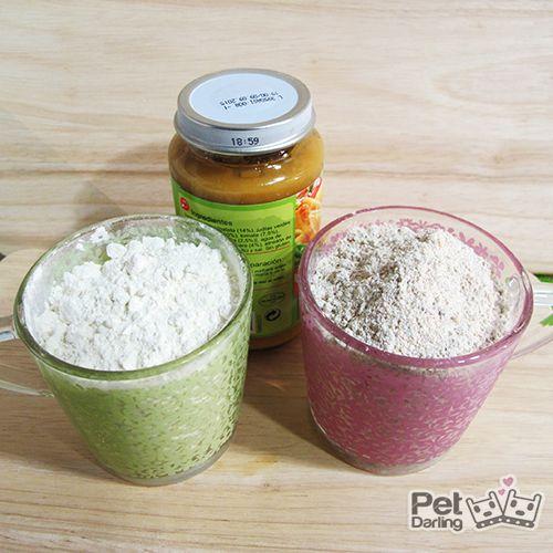 Galletas recompensa para perros con potitos de bebé