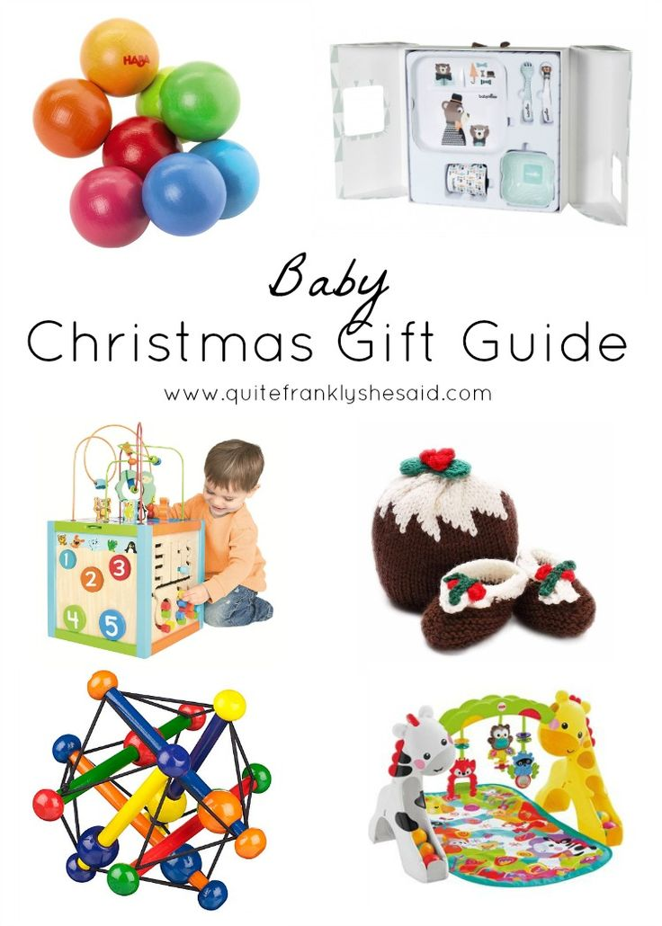 Christmas Gift Guide for Babies, Toddlers
