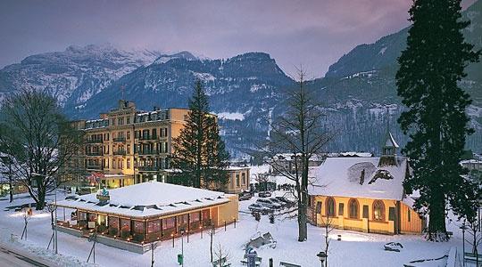 Meiringen Switzerland, Hotel du Sauvage. Love Switzerland!