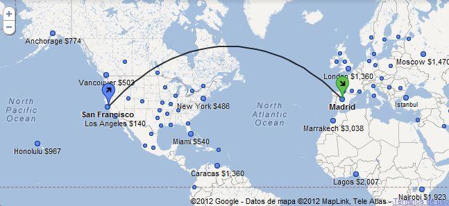 El buscador de vuelos de Google se expande fuera de EEUU (España incluido)