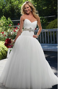 30 best Fit & Flare / Dropped Waist Wedding Dress images on ...