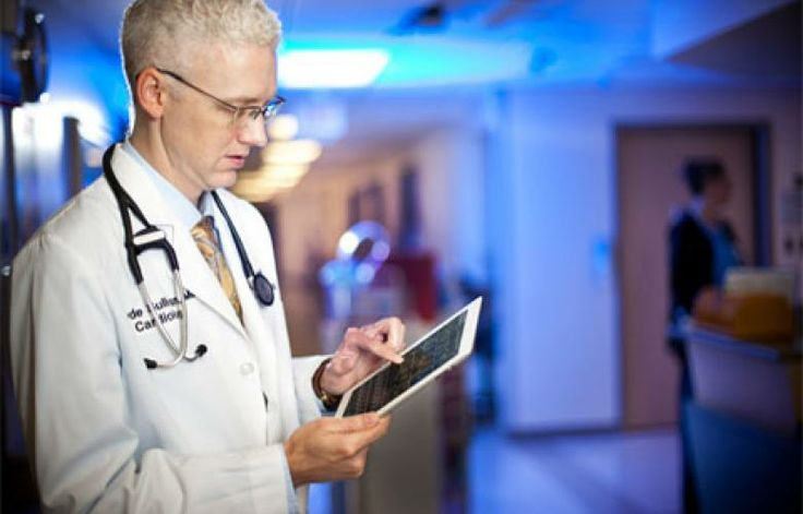 Tipping point? 51% of doctors surveyed say they use a tablet for professional purposes #SkuraCorp