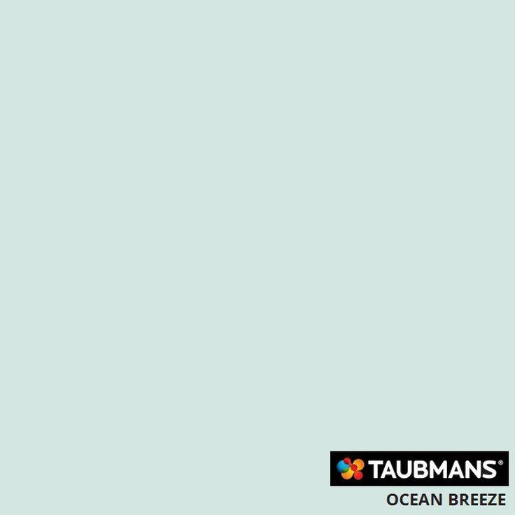 #Taubmanscolour #oceanbreeze