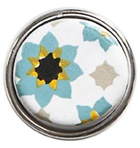 NOOSA AMSTERDAM  Turquoise/white ceramic