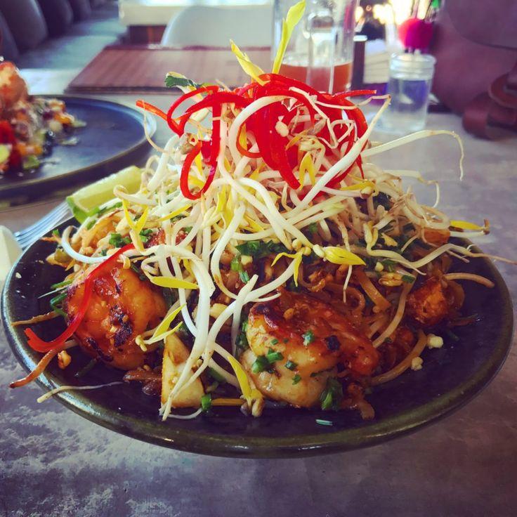 Pad Thai con camarones de Mezzanine