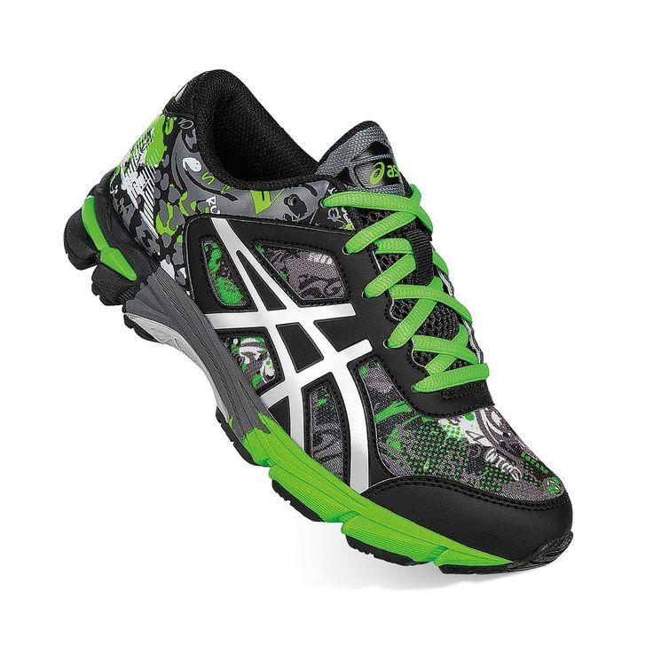 ASICS GEL-Noosa TRI 11 Grade School Kids' Running Shoes, Boy's, Size: 2, Dark Grey