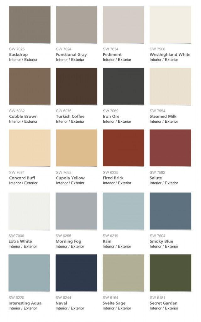95 best Popular Paint Colors 2014 images on Pinterest Wall