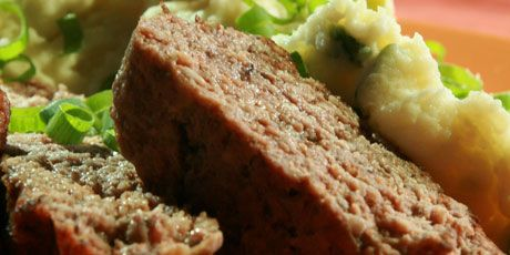 Anna Olson's Marvelous Meatloaf (with cremini mushrooms)