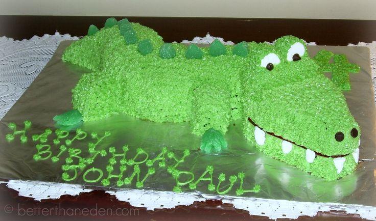 Better Than Eden: Alligator Cake