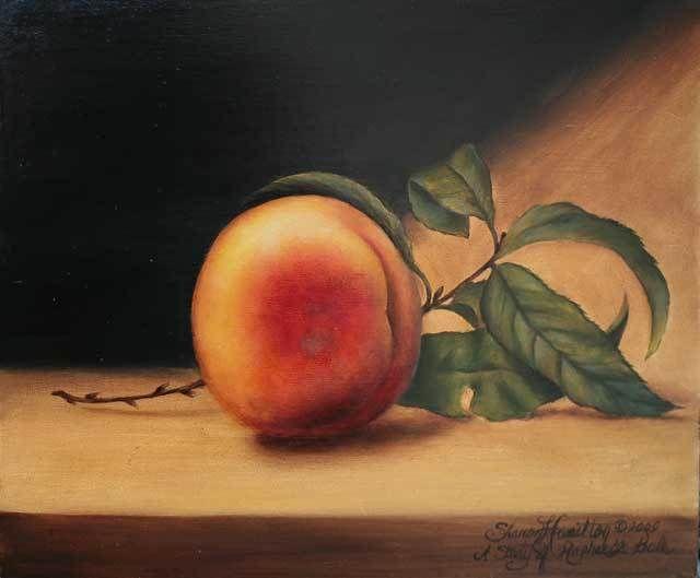 Raphaël Peale Peach Reproduction - DVD - Sharon Hamilton, MDA