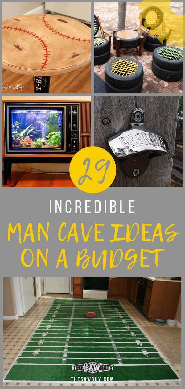 29 Incredible Man Cave Ideas On A Budget Diy Projects Best Man