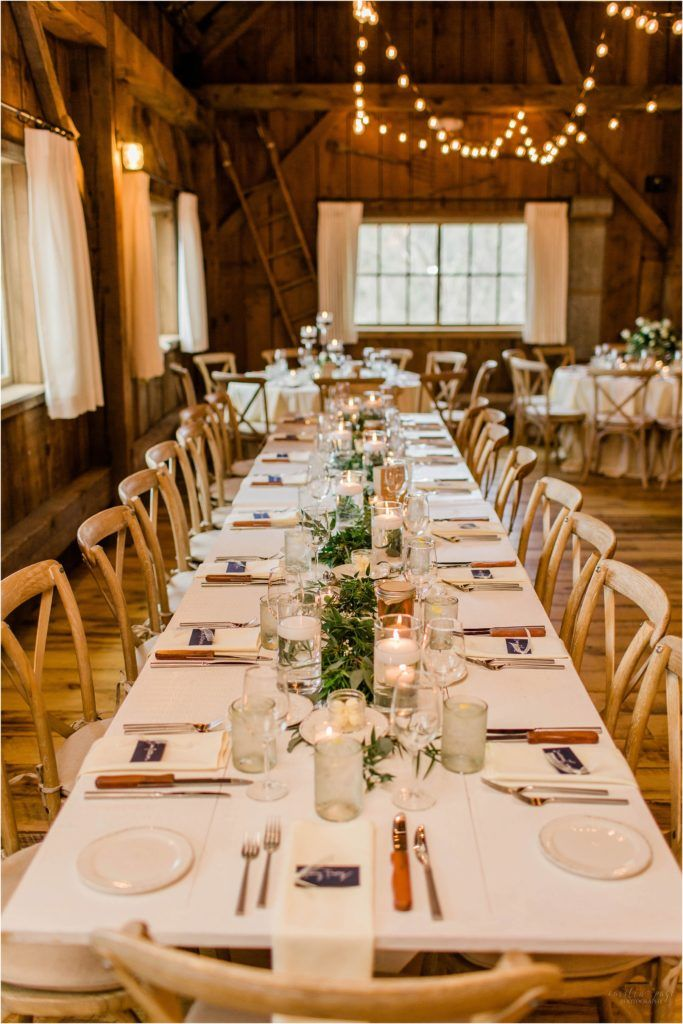 Spring Wedding At Barn On The Pemi Country Style Wedding New