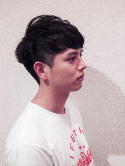 【Livre】ツーブロック×パーマショート♪ | 原宿の美容室 Livreのメンズヘアスタイル | Rasysa(らしさ)