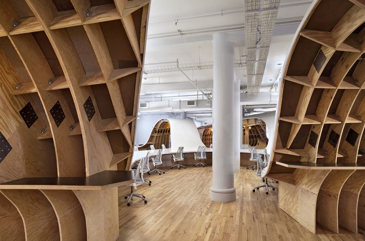 The Barbarian Group's crazy 4,400-sq-ft desk puts your work surface to shame