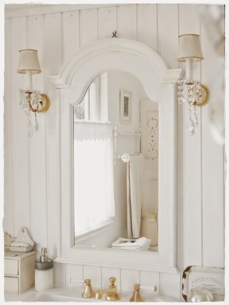 1000+ images about Salle de bain - Bathroom on Pinterest Shabby - shabby bad