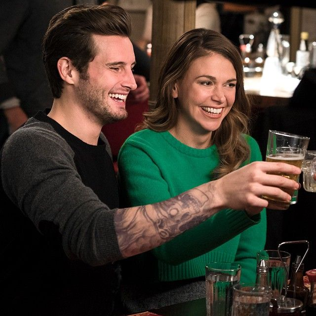 Cute sweater! Simple for a night out on the town! Watch the new series YOUNGER coming to TV Land March 31 10/9C! From the creator of Sex and The City, 'Younger' stars Sutton Foster, Hilary Duff, Debi Mazar, Miriam Shor and Nico Tortorella. Catch a sneak peek at http://www.tvland.com/shows/younger.