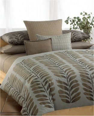 Calvin Klein Bedding, Boxwood Sycamore King Pillow Sham NEW