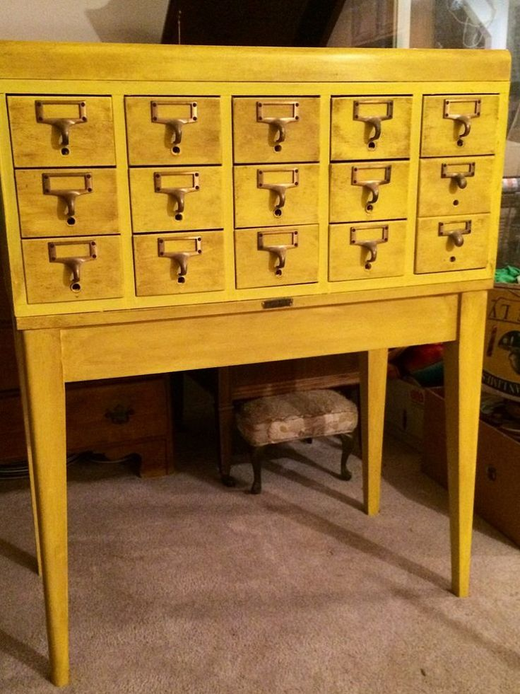 136 best Card Catalog & Cabinets images on Pinterest | Furniture ...