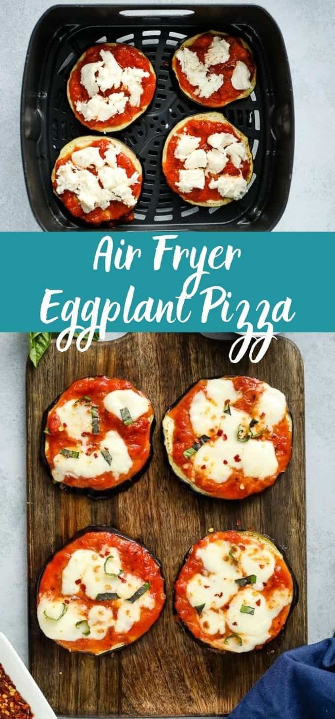 Air Fryer Eggplant Pizza in 2020 Eggplant pizzas, Air