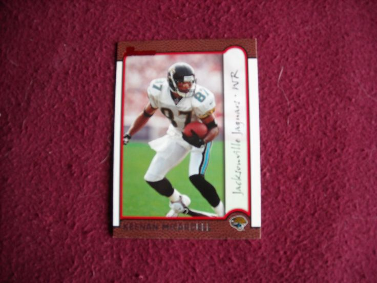 Keenan McCardell Jacksonville Jaguars WR Card No. 53 (FB53) Bowman Topps 1999 Football Card - for sale at Wenzel Thrifty Nickel ecrater store