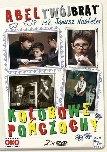 Abel twój brat i kolorowe pończochy (DVD) - Nasfeter Janusz