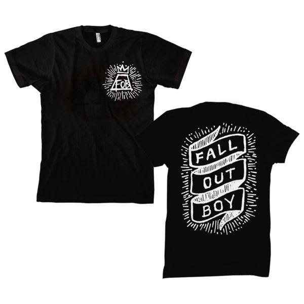 Scroll Tee  - Fall Out Boy Merch