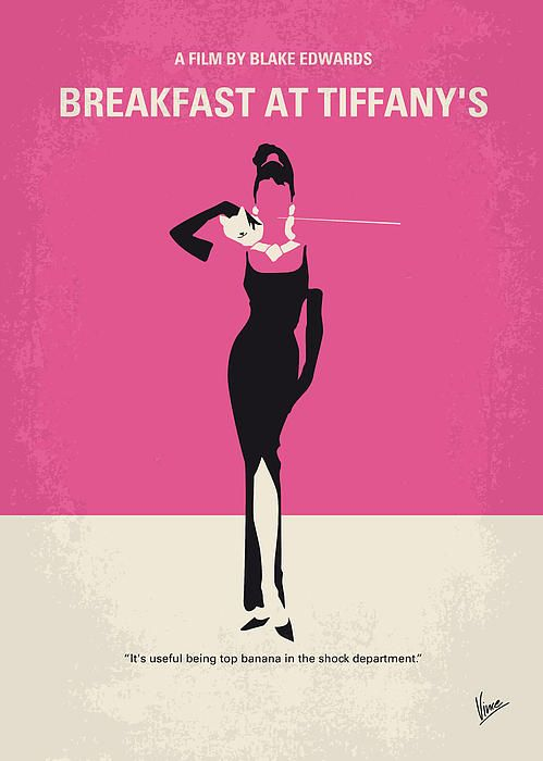 breakfast at Tiffanys Minimal Movie.