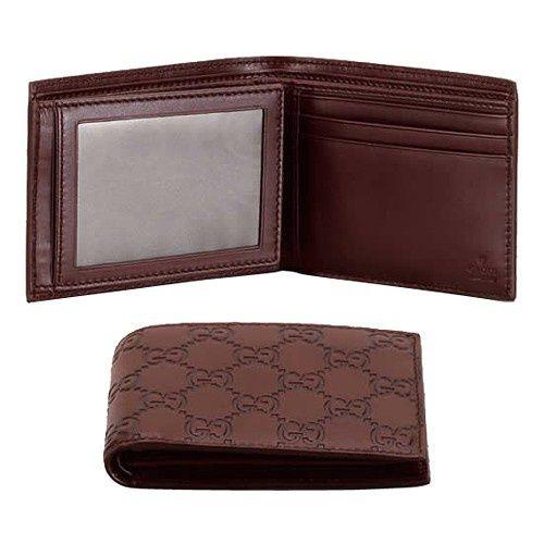Gucci BiPieghe Portafoglio Cioccolato 146228A0V1R2019 GI442 [396] - €117.00 : gucci outlet,gucci scarpe,borse gucci outlet,gucci uomo - http://www.gucclbagsoutlet.com/