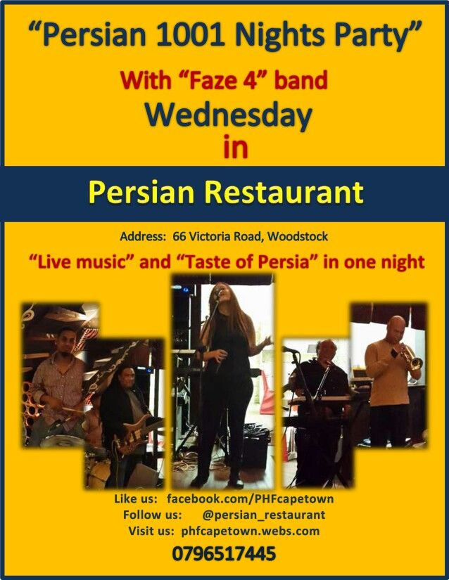 Persian 1001 Nigh Party