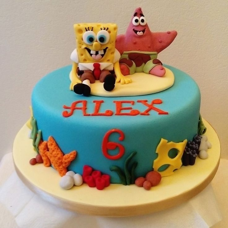 The 25 best Sponge bob cake ideas on Pinterest Sponge bob