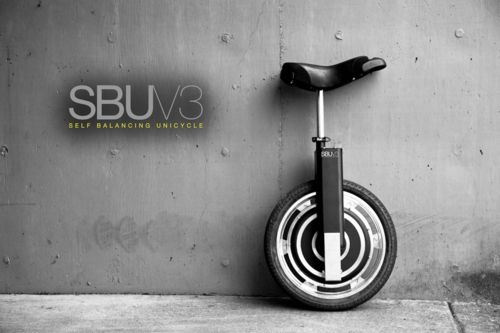 Self-balancing unicycle.