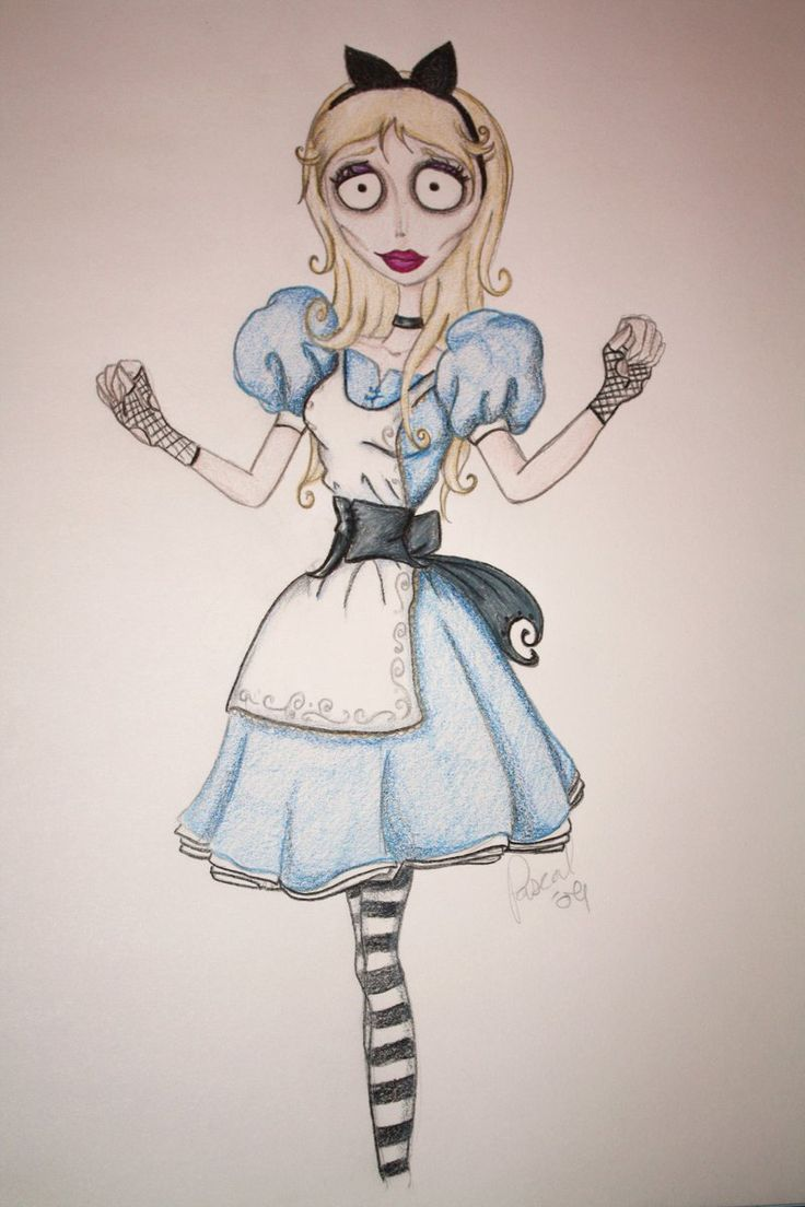 Tim Burton Alice by spring-Rayne.deviantart.com on @deviantART