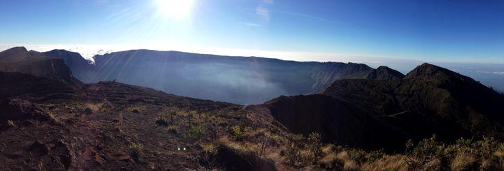 Bibit kawah Gunung Tambora