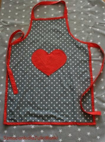 szmacianki dla Julki i Mańki Cotton Dreams / dotted apron