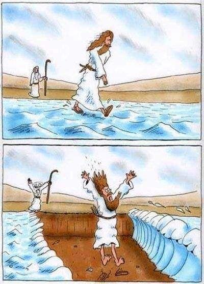 lustige biblische Witze