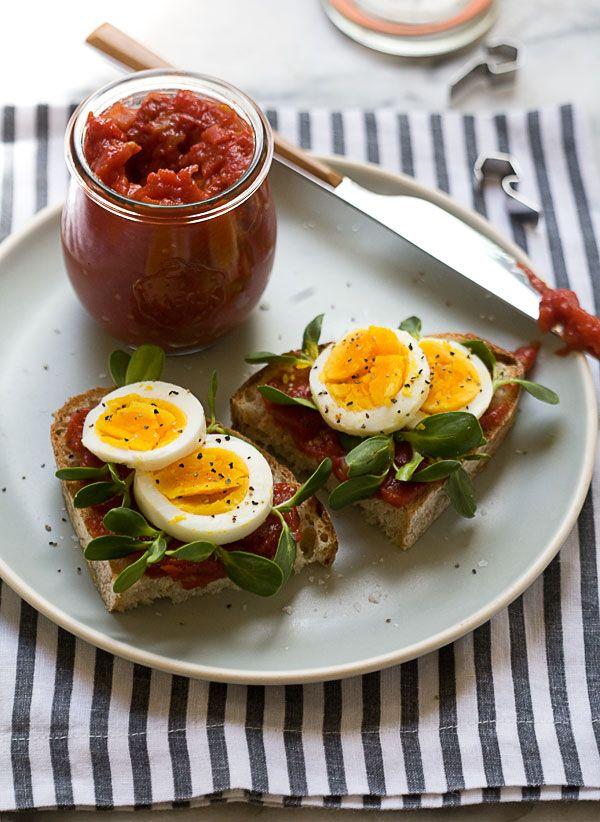 Heirloom Tomato Jam // www.acozykitchen.com